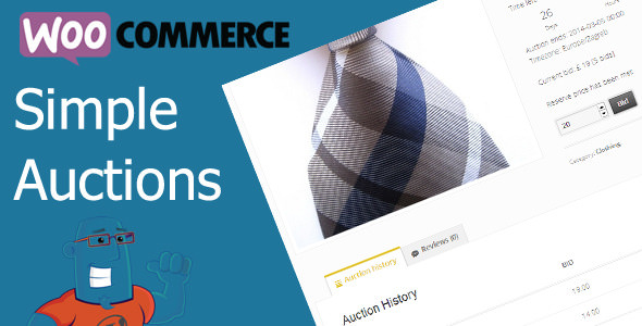 WooCommerce Simple Auctions v1.2.26 – WordPress Auctions