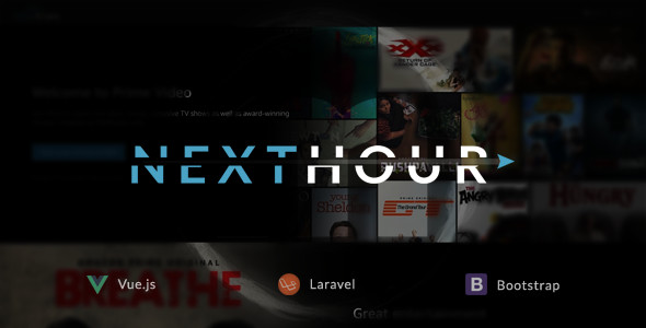 Next Hour v1.6 – Movie Tv Show & Video Subscription Portal Cms