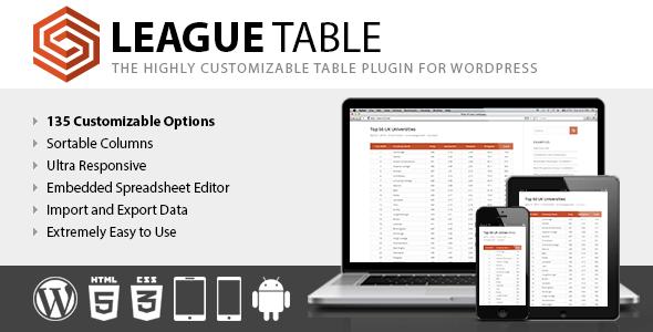 League Table v2.08
