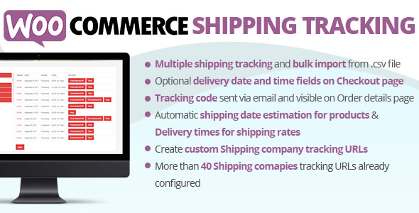 WooCommerce Shipping Tracking v18.6