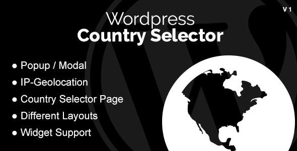 WordPress Country Selector v1.4.3