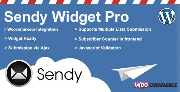 Sendy Widget Pro v1.8.3