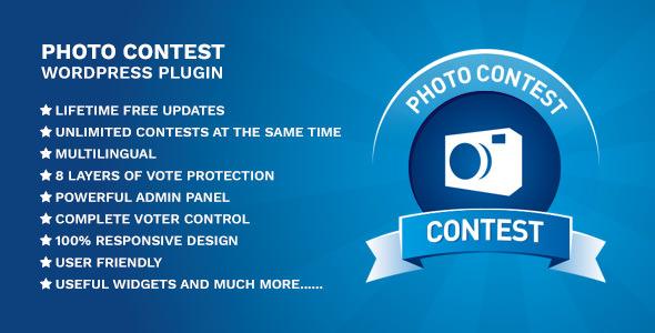 Photo Contest WordPress Plugin v3.4