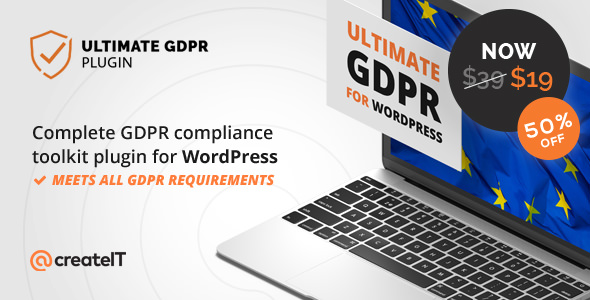 Ultimate GDPR v1.5.8 - Compliance Toolkit for WordPress