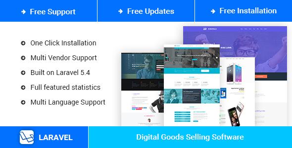 MenorahMarket v2.0 - Multi Vendor Digital Goods Market Place Script