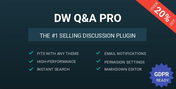 DW Question & Answer Pro v1.1.6 - WordPress Plugin