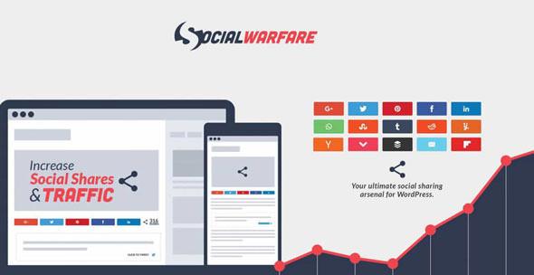 Social Warfare Pro v3.5.1 – Best Social Sharing for WordPress
