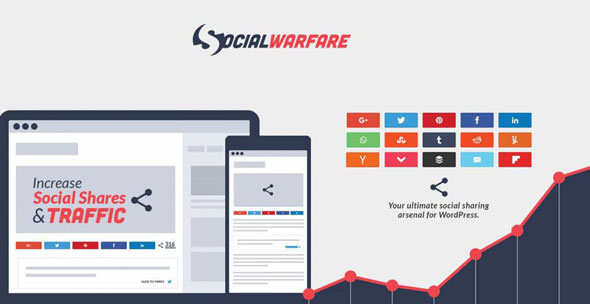 Social Warfare Pro v3.2.0 – Best Social Sharing for WordPress
