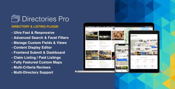 Directories Pro plugin for WordPress v1.1.32