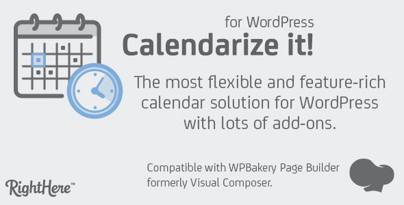 Calendarize it! for WordPress v4.7.3