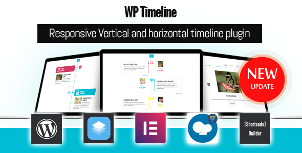 WP Timeline v3.5.1 - Responsive Vertical and Horizontal timeline plugin
