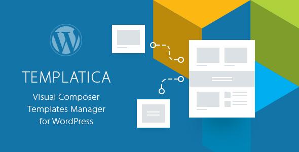 Templatica v1.1 - Visual Composer Templates Manager