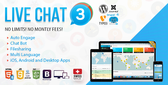 Live Support Chat v3.7 - Live Chat 3