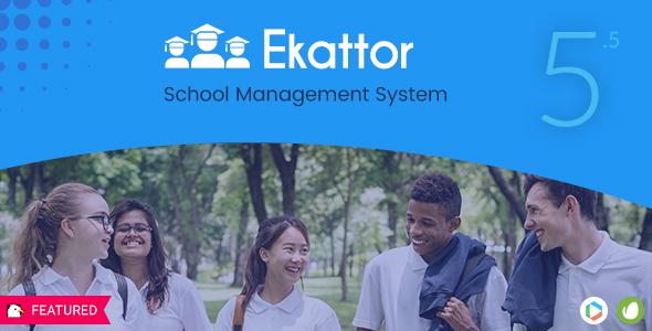 Ekattor School Management System Pro v5.5