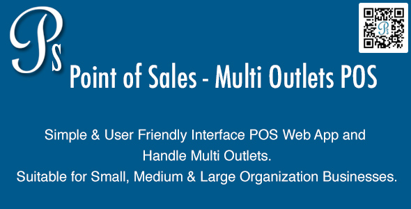 Point of Sales v3.1 – Multi Outlets POS