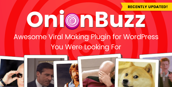 OnionBuzz v1.2.4 - Viral Quiz Maker for WordPress