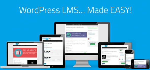 LearnDash v2.6.1 – WordPress LMS Plugin