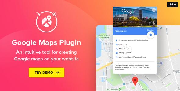 WP Google Maps v1.6.0 - Map Plugin for WordPress