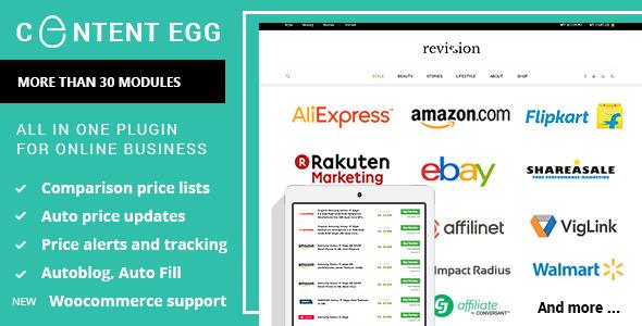 Content Egg v4.9.5 - all in one plugin for Affiliate, Price Comparison