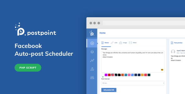 PostPoint v1.0.4 – Facebook Auto Post & Scheduler