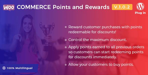 WooCommerce Points and Rewards v1.0.2 – WordPress Plugin