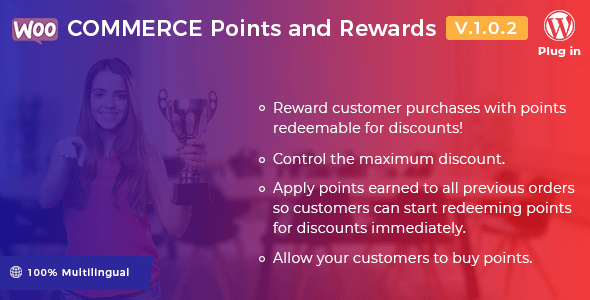 WooCommerce Points and Rewards v1.0.2 - WordPress Plugin