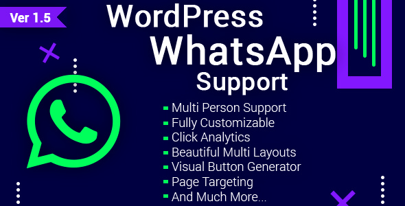 WordPress WhatsApp Support v1.5