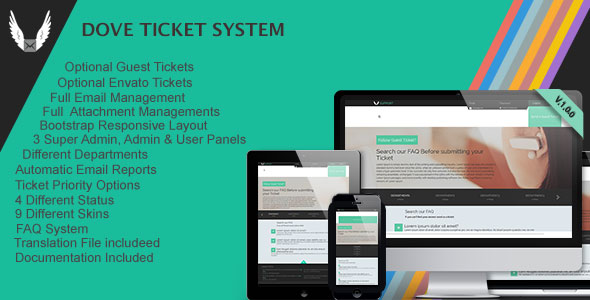 Dove Ticket System v2.0.0