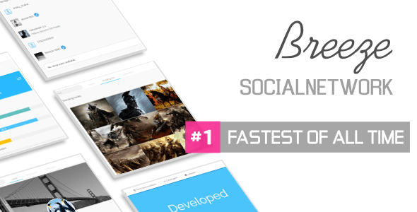 Breeze Lite v1.4 – Social Network Platform