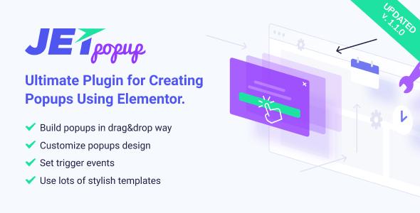 JetPopup v1.1.0 – Popup Addon for Elementor