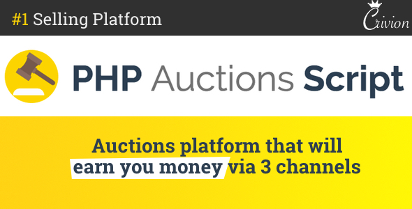 PHP Auctions Script v1.1.1 - nulled