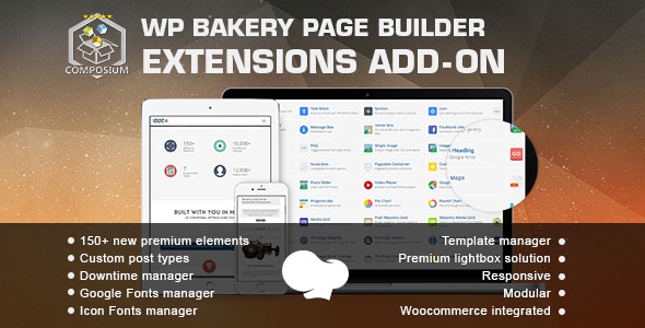 Composium v5.6.0 - WP Bakery Page Builder Addon