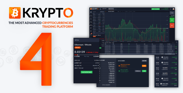 Krypto v4.1 – Live Trading, Advanced Data, Market Analysis, Watching List, Portfolio, Subscriptions