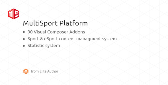 MSP v4.0.0 – MultiSport & eSport WordPress plugin