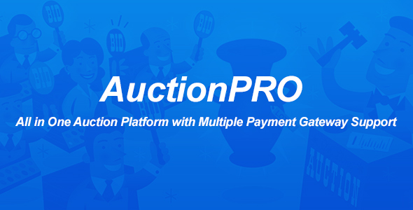 AuctionPRO – All in One Auction Platform