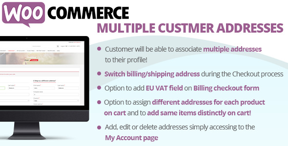 WooCommerce Multiple Customer Addresses v147
