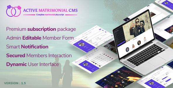 Active Matrimonial CMS v1.5 - nulled