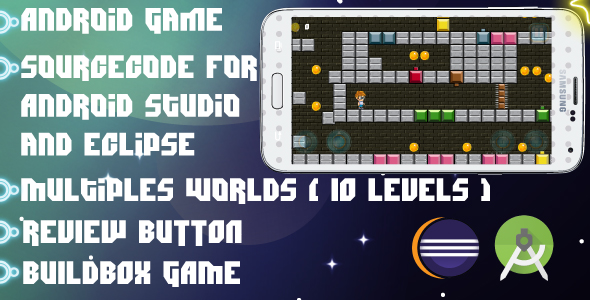 Smart Boy - Android Game-multiple worlds-easy to reskin