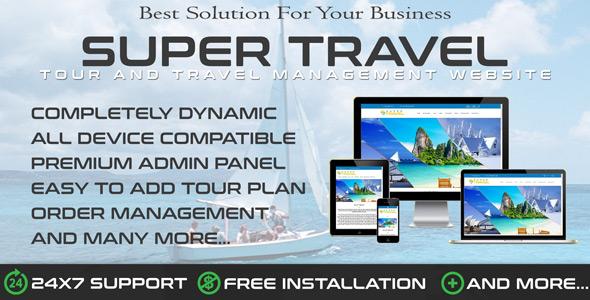Travo – Travel Agency & Tourism Management