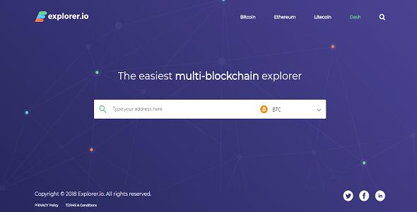 Explorer.IO (Multi-BlockChain Explorer)