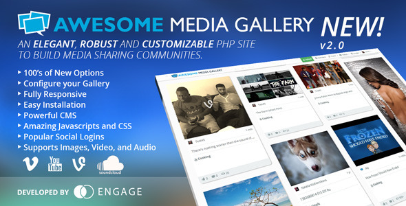 Awesome Media Gallery v2.2.1
