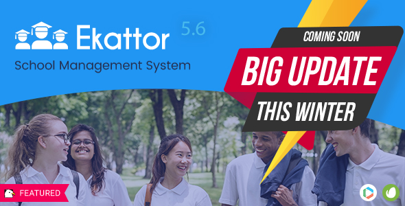 Ekattor School Management System Pro v5.6 – nulled