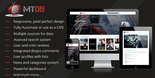 MTDb v2.9.4 – Ultimate Movie & TV Database