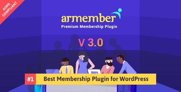 ARMember v3.0 – WordPress Membership Plugin