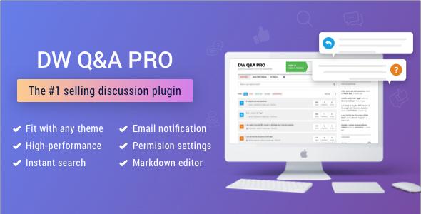 DW Question & Answer Pro v1.1.8 - WordPress Plugin