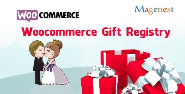 Woocommerce Gift Registry v2.5