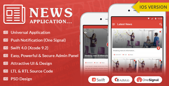 iOS News App – Swift4