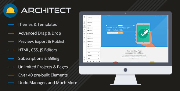 Architect v2.1.1 – HTML and Site Builder – nulled