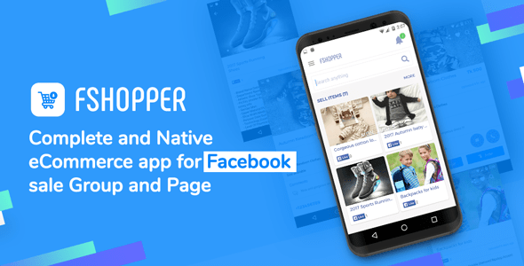 fShopper – Android app for Facebook Page or Group
