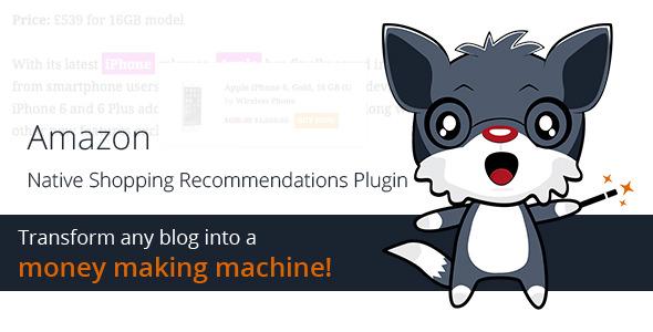 Amazon Native Shopping Recommendations Plugin v1.3